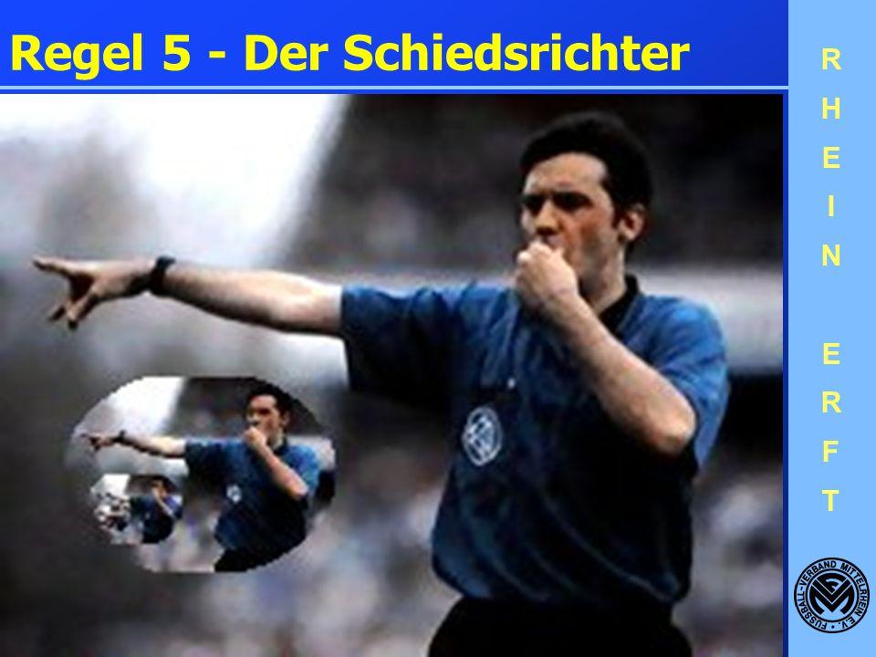 Regel 5 - Der Schiedsrichter