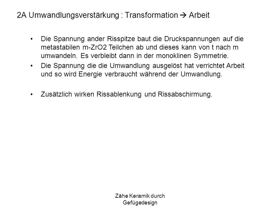 2A Umwandlungsverstärkung : Transformation  Arbeit