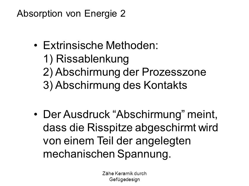 Absorption von Energie 2