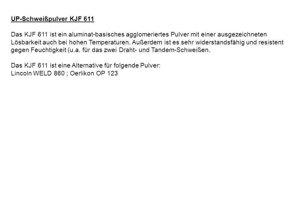 UP-Schweißpulver KJF 611