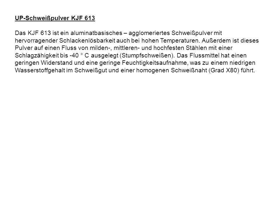 UP-Schweißpulver KJF 613