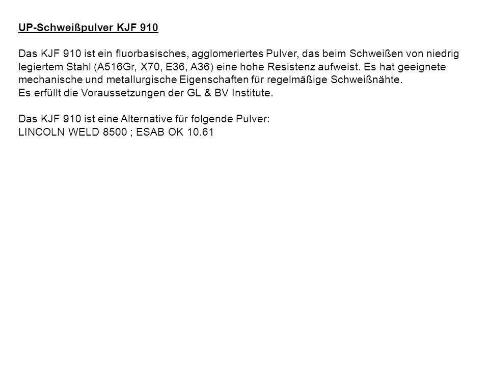 UP-Schweißpulver KJF 910