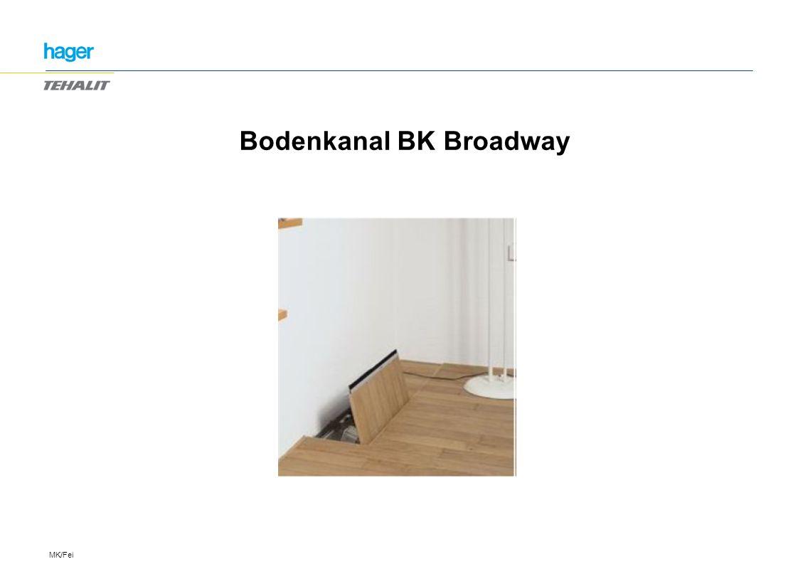 Bodenkanal BK Broadway