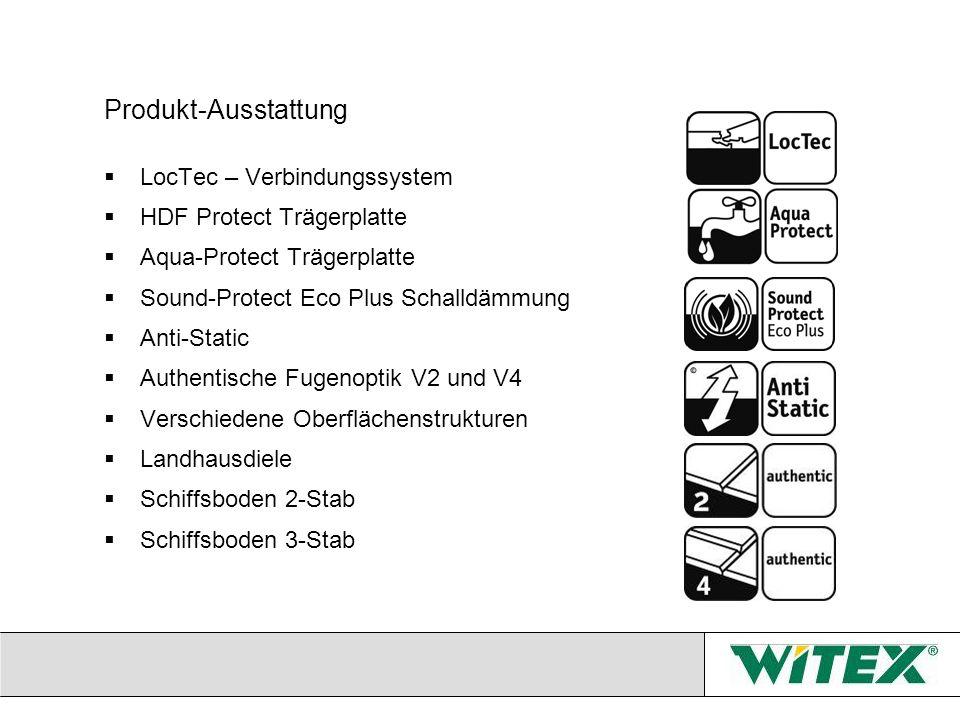 Produkt-Ausstattung LocTec – Verbindungssystem