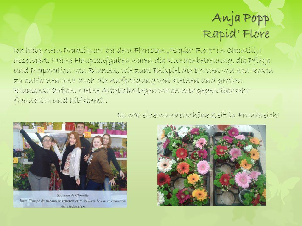 Anja Popp Rapid' Flore