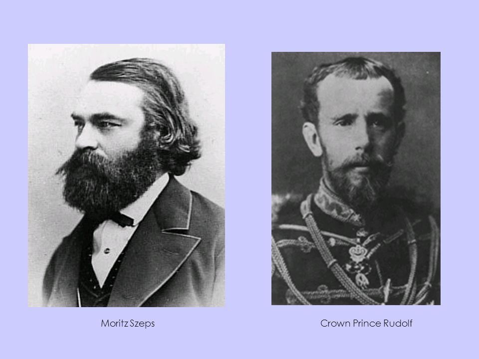 Moritz Szeps Crown Prince Rudolf