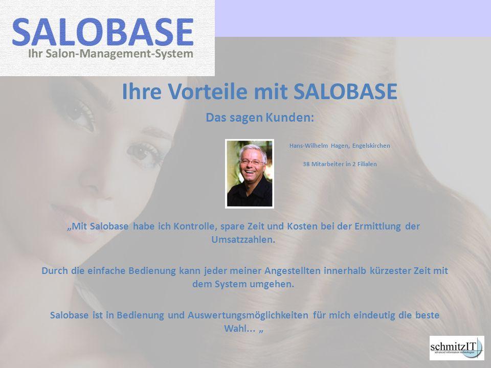 Ihre Vorteile mit SALOBASE