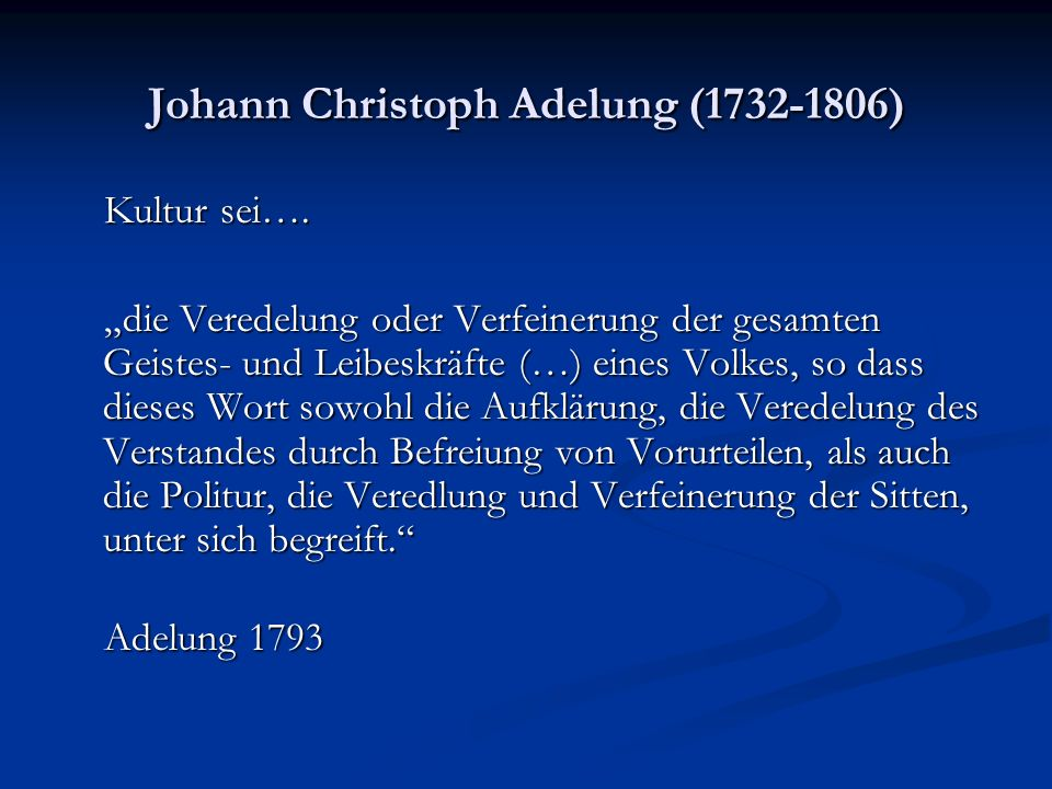 Johann Christoph Adelung (1732-1806)