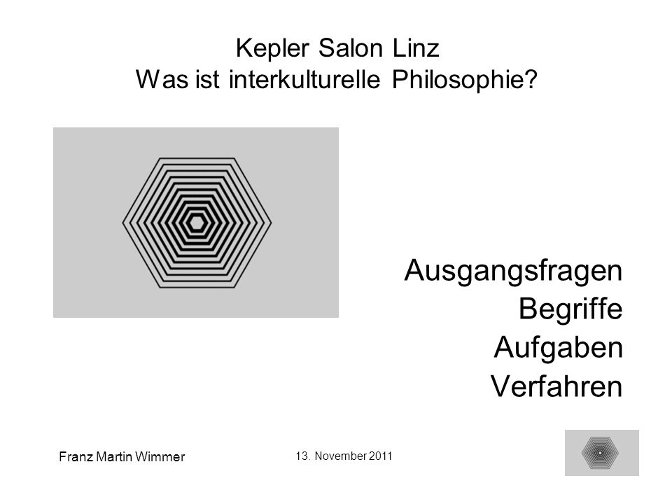 Kepler Salon Linz Was ist interkulturelle Philosophie