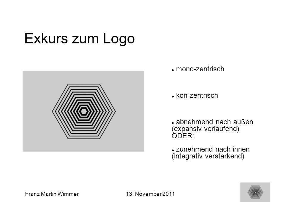 Exkurs zum Logo mono-zentrisch kon-zentrisch