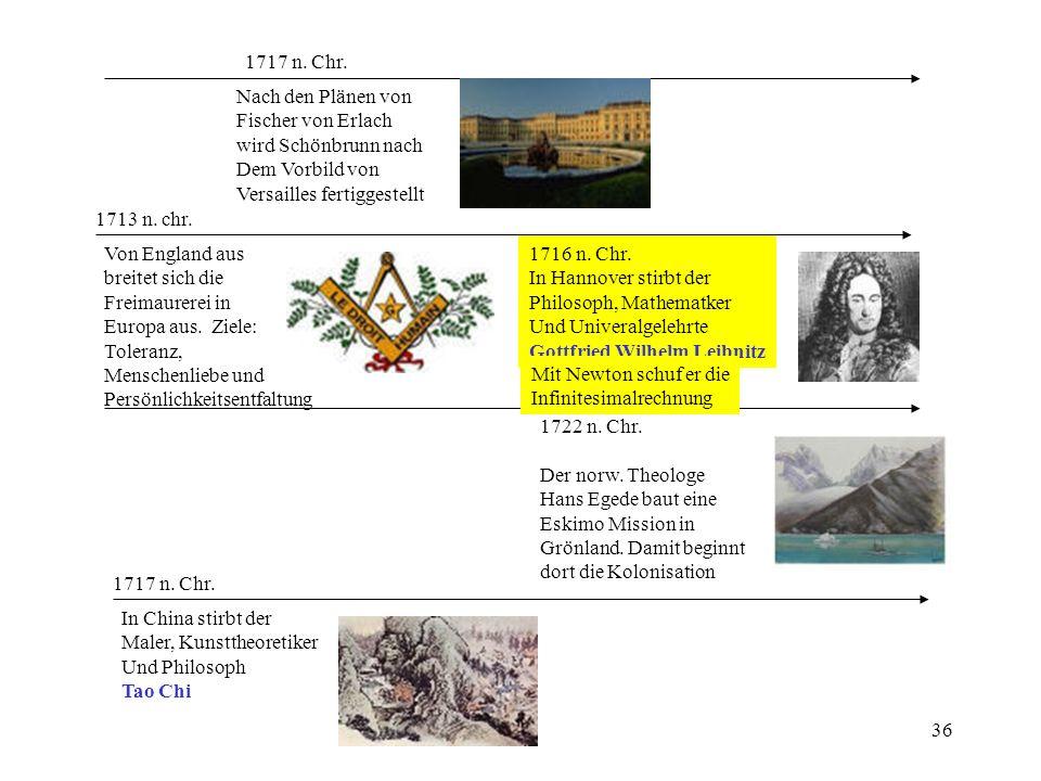 1717 n. Chr. Nach den Plänen von. Fischer von Erlach. wird Schönbrunn nach. Dem Vorbild von. Versailles fertiggestellt.