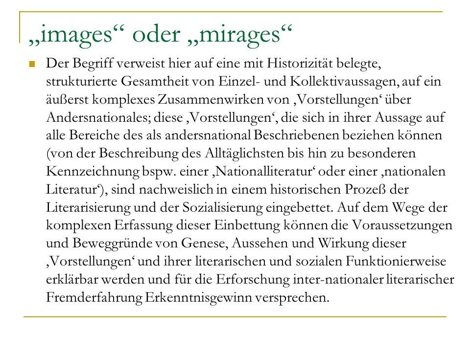 """""""images oder """"mirages"""