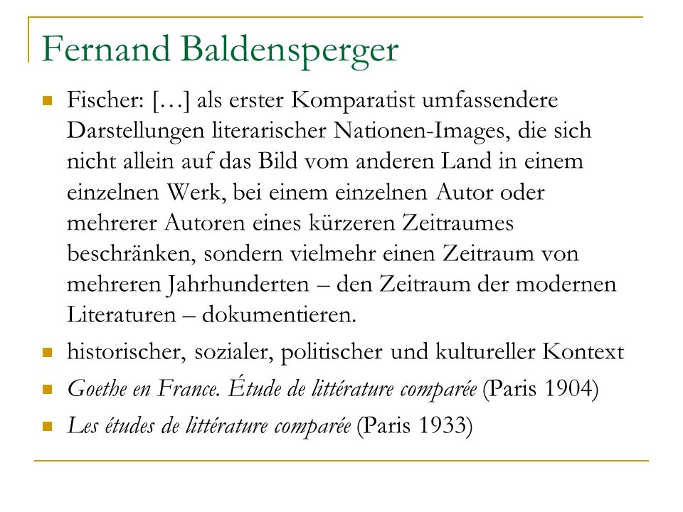 Fernand Baldensperger