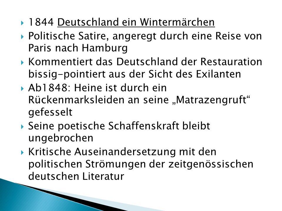 1844 Deutschland ein Wintermärchen
