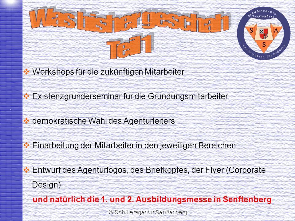 und natürlich die 1. und 2. Ausbildungsmesse in Senftenberg