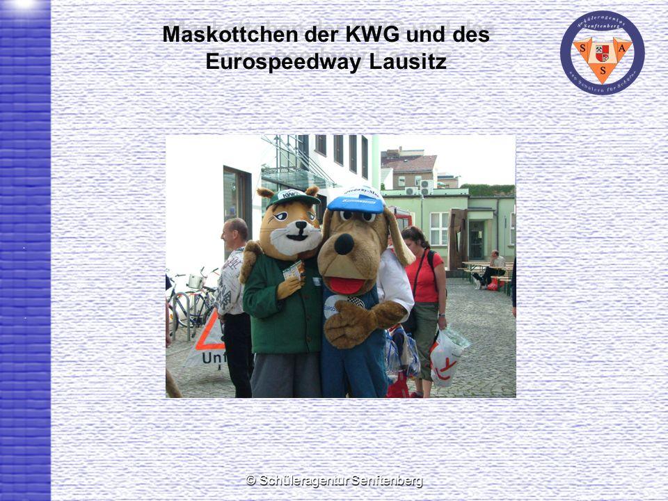 Maskottchen der KWG und des Eurospeedway Lausitz