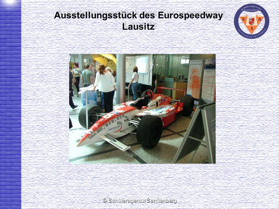 Ausstellungsstück des Eurospeedway Lausitz