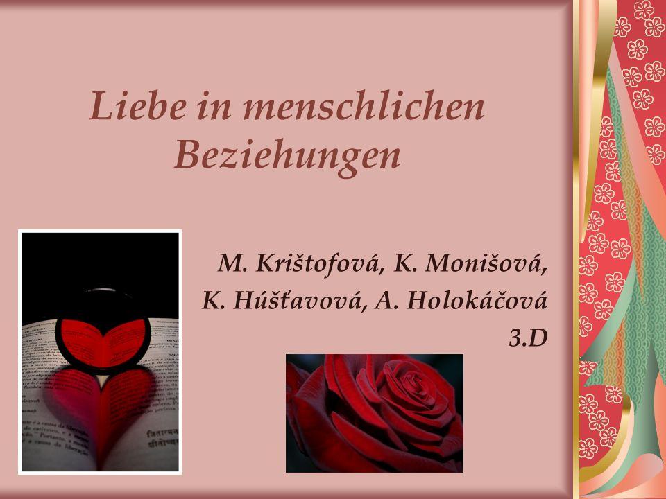 Liebe in menschlichen Beziehungen