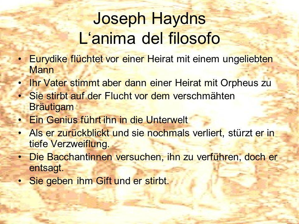 Joseph Haydns L'anima del filosofo