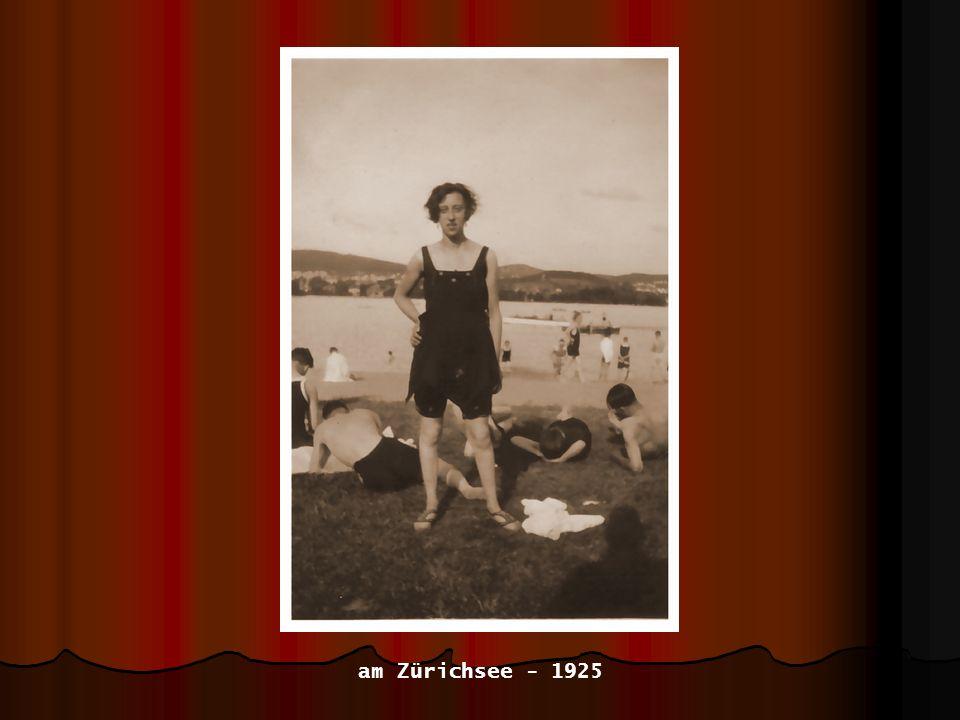 am Zürichsee - 1925