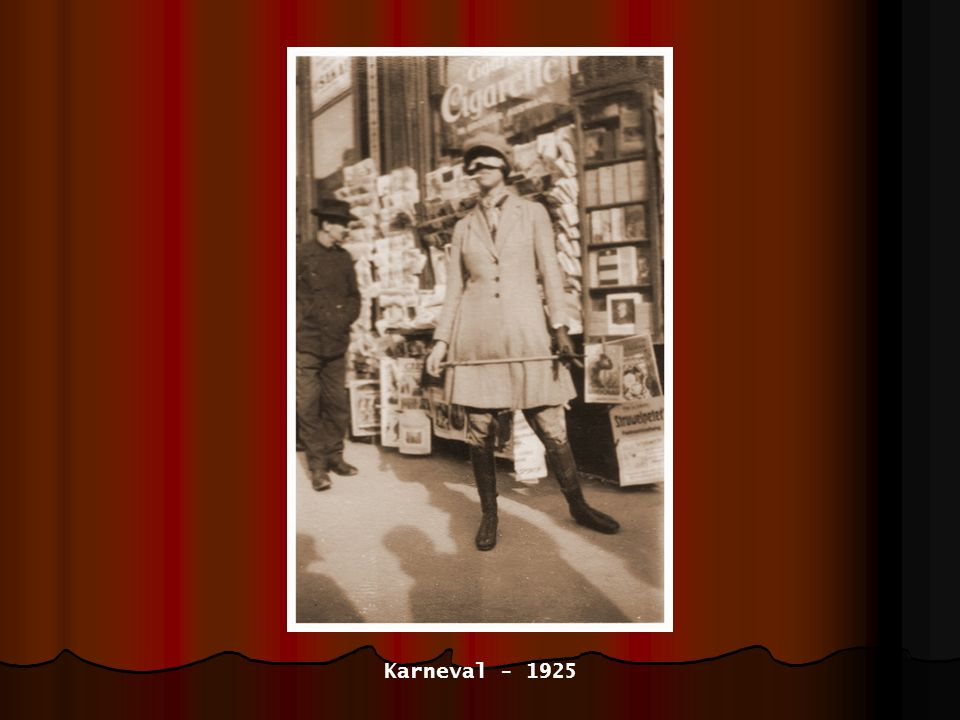 Karneval - 1925