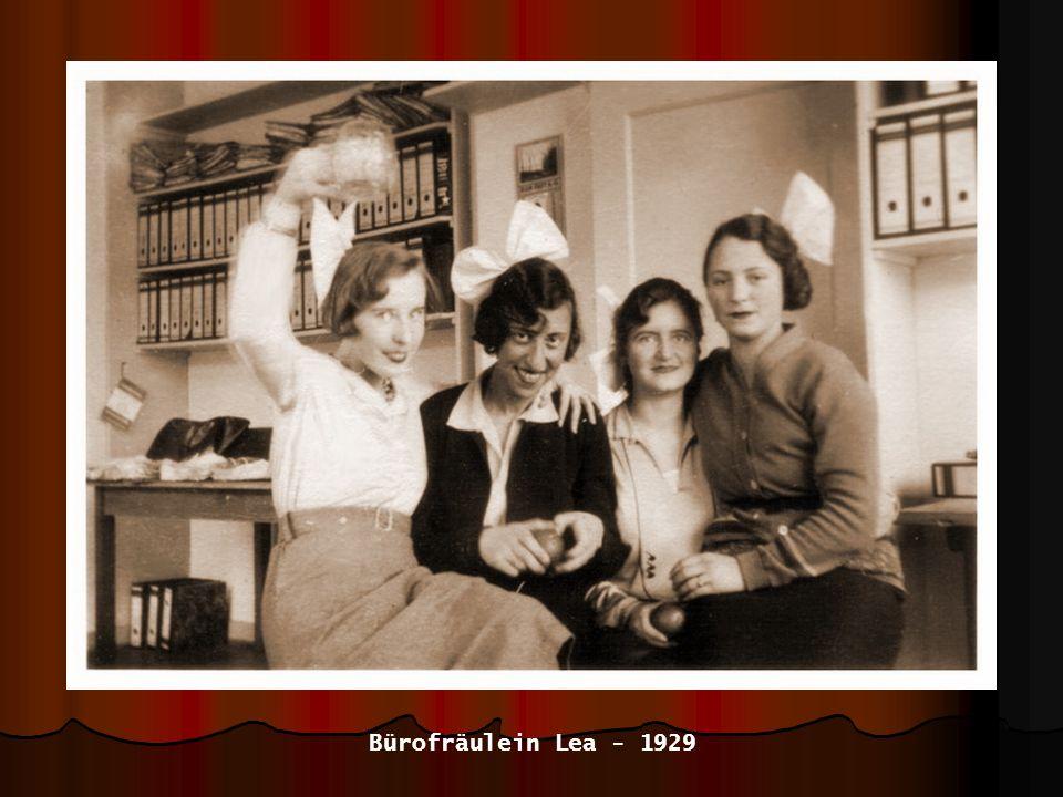 Bürofräulein Lea - 1929