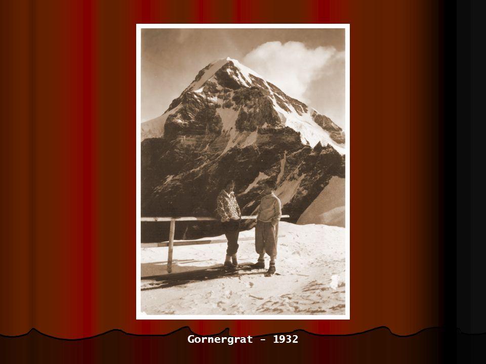 Gornergrat - 1932
