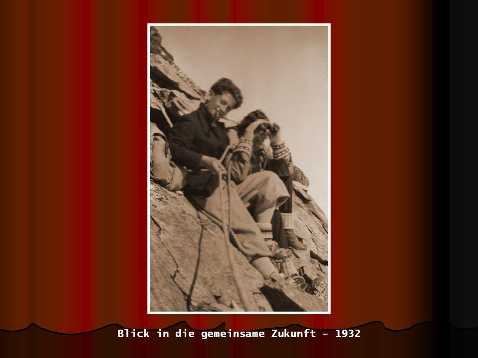 Blick in die gemeinsame Zukunft - 1932
