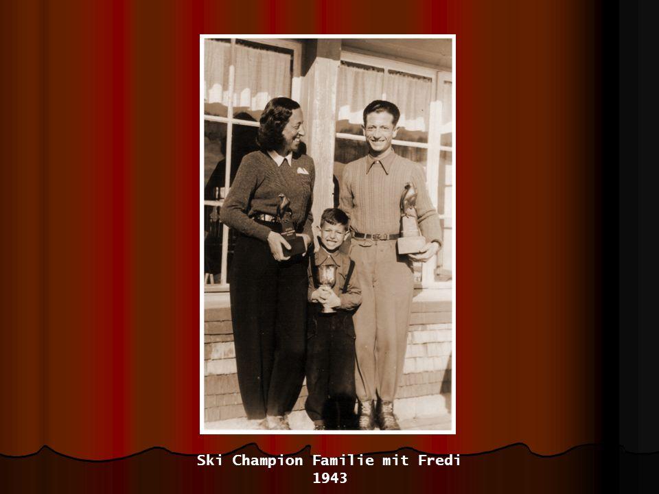 Ski Champion Familie mit Fredi