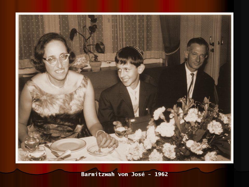 Barmitzwah von José - 1962