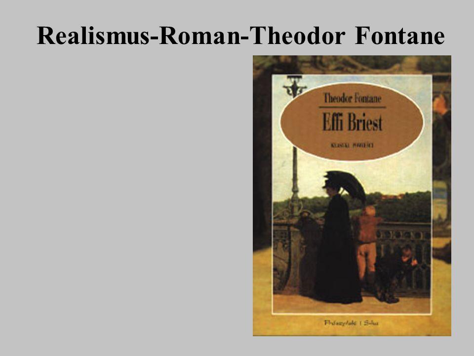 Realismus-Roman-Theodor Fontane
