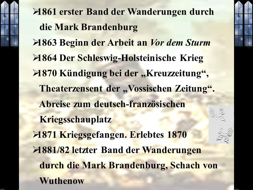 1861 erster Band der Wanderungen durch