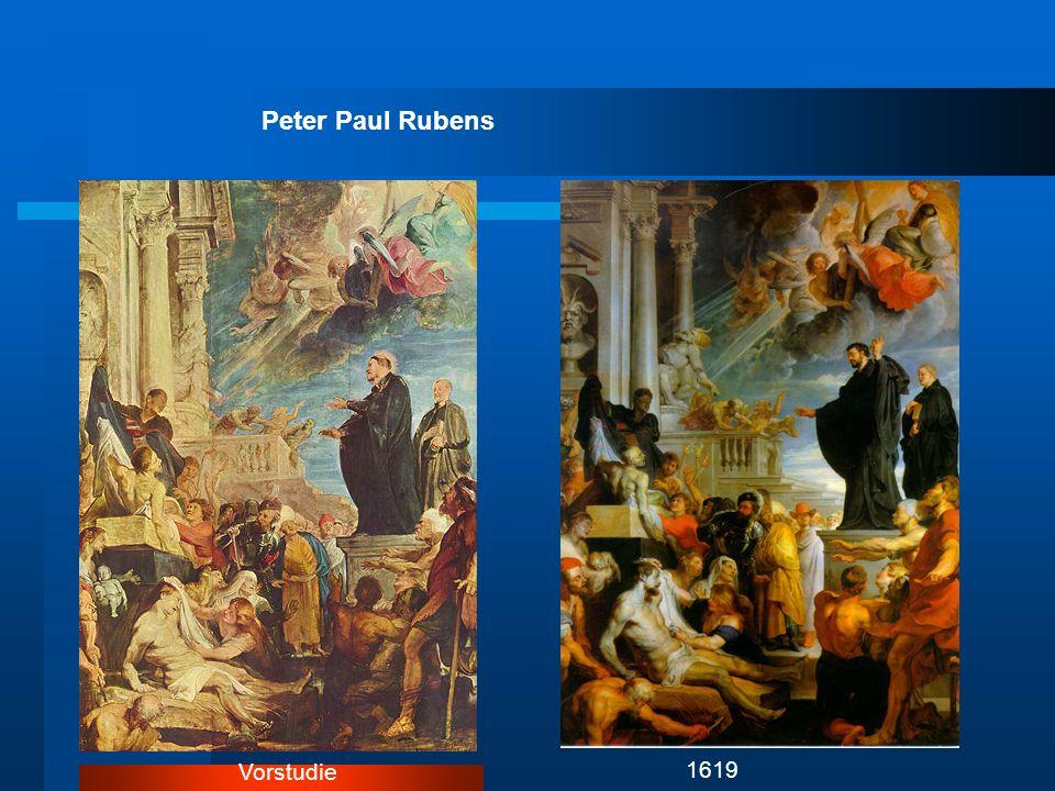 Peter Paul Rubens Vorstudie 1619