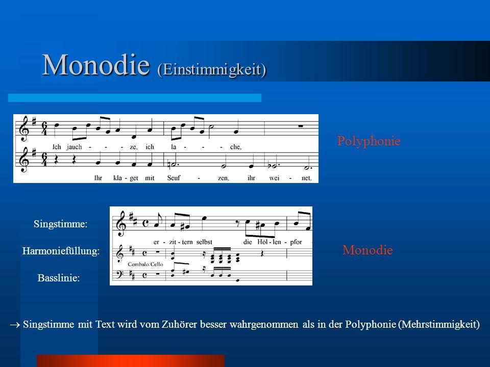 Monodie (Einstimmigkeit)