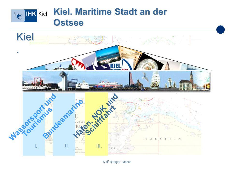 Kiel. Maritime Stadt an der Ostsee