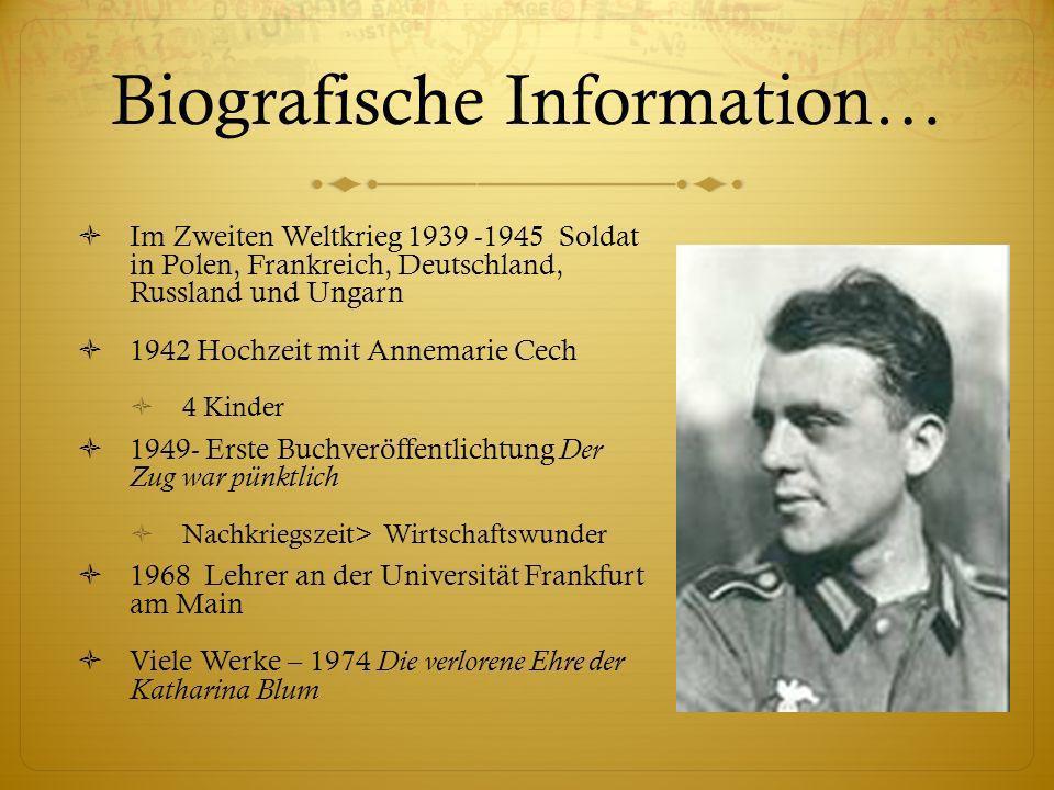 Biografische Information…