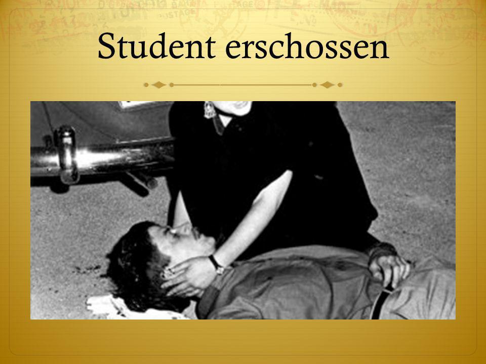 Student erschossen