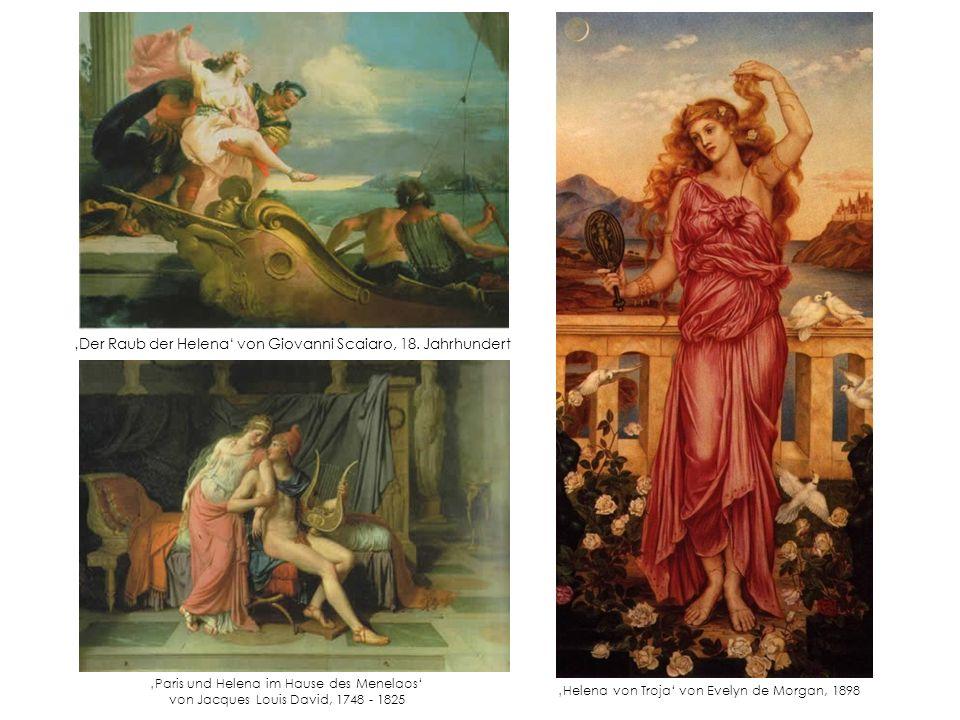 'Der Raub der Helena' von Giovanni Scaiaro, 18. Jahrhundert