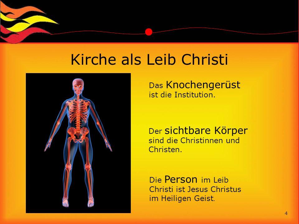 Kirche als Leib Christi
