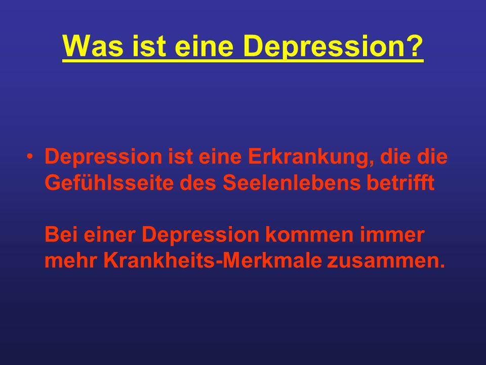Was ist eine Depression
