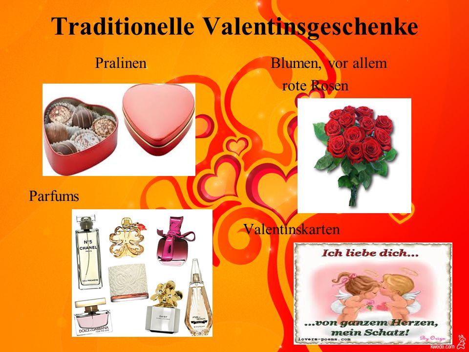 Traditionelle Valentinsgeschenke