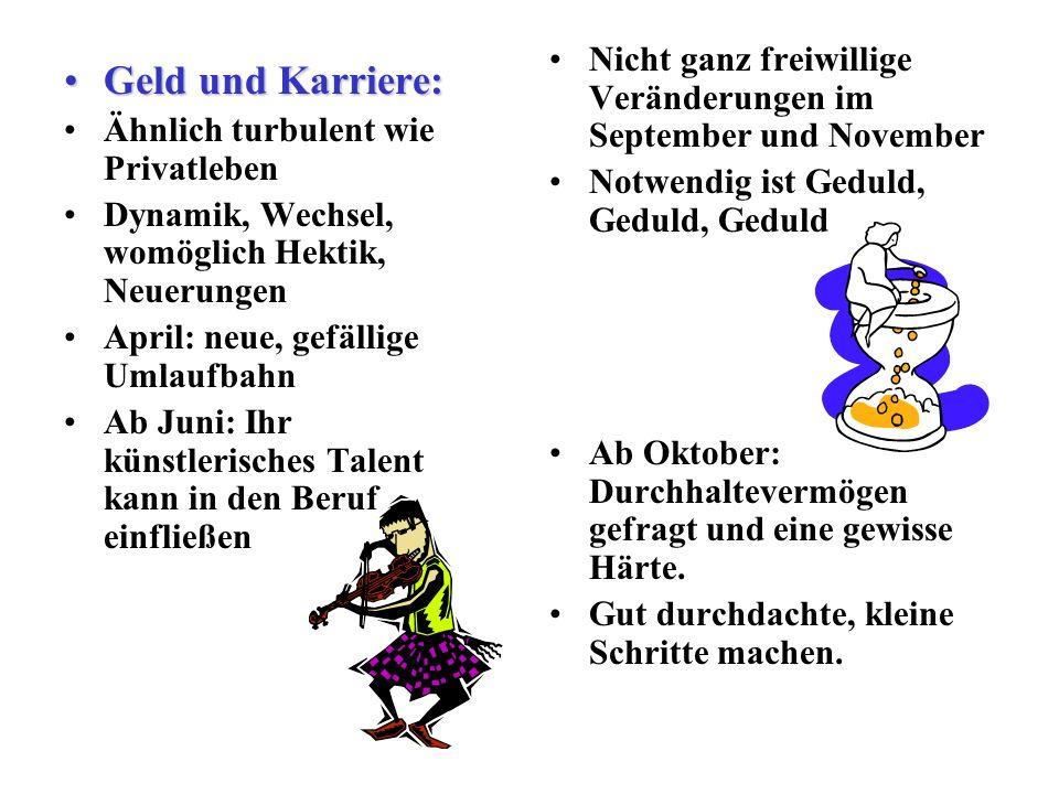 Nicht ganz freiwillige Veränderungen im September und November