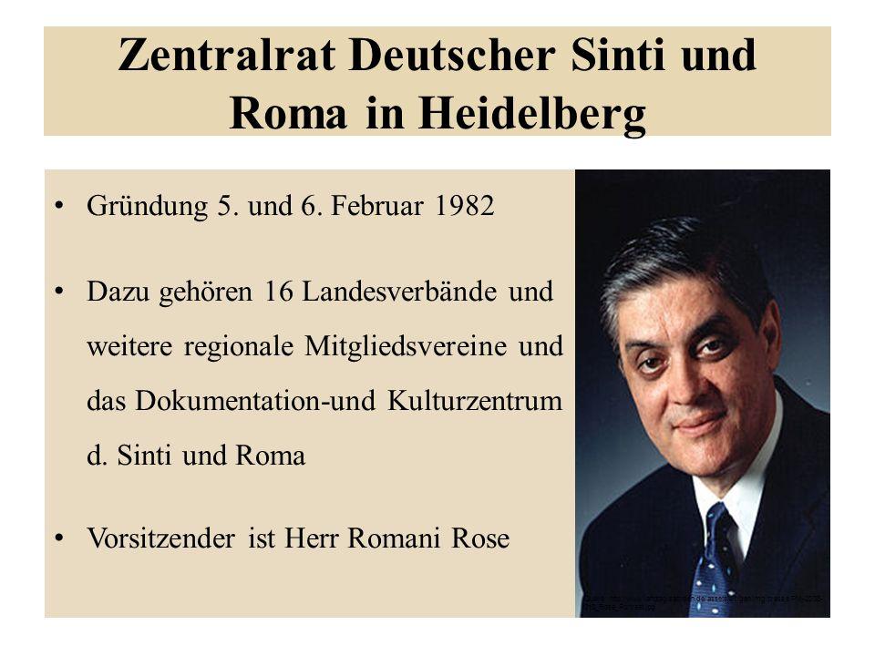 Zentralrat Deutscher Sinti und Roma in Heidelberg