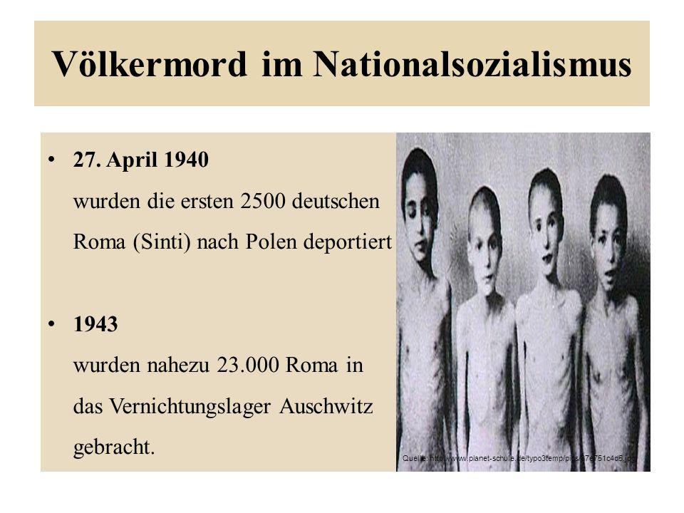 Völkermord im Nationalsozialismus