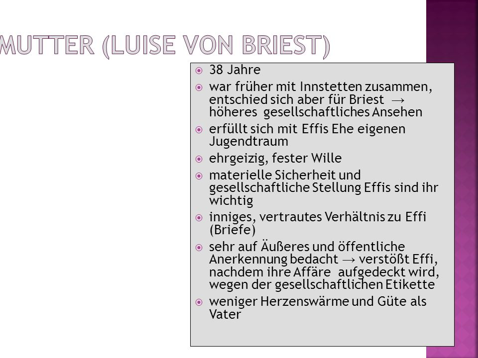 Mutter (Luise von Briest)