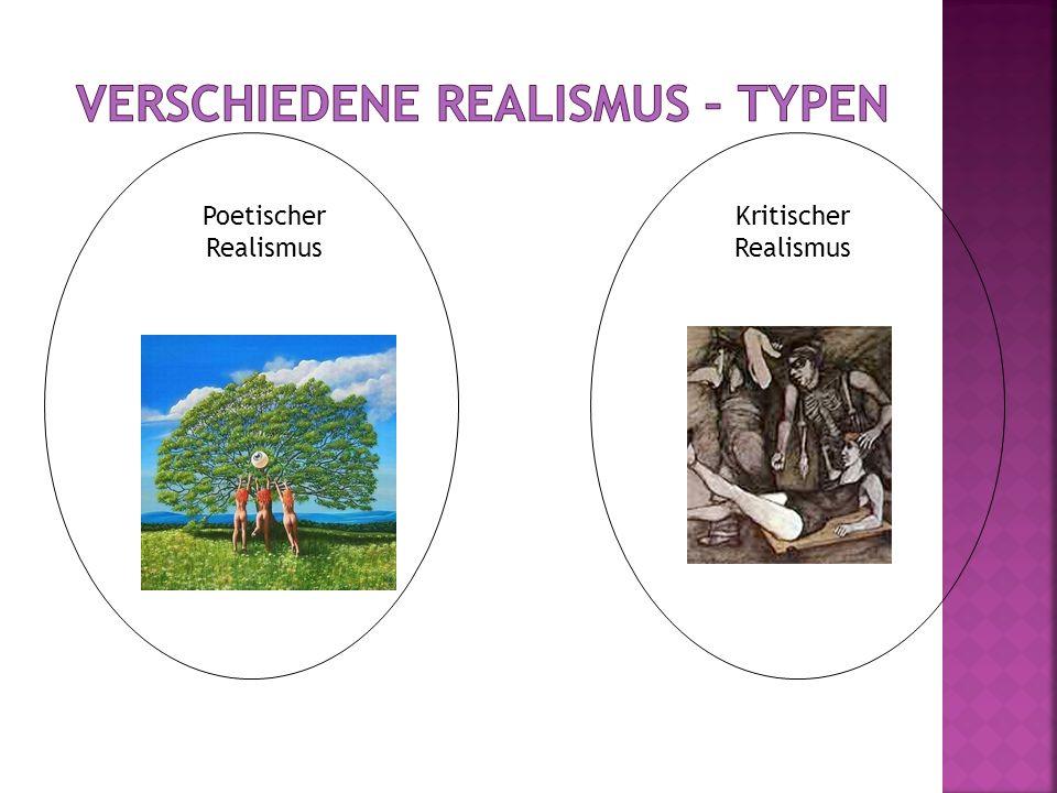 Verschiedene Realismus – Typen
