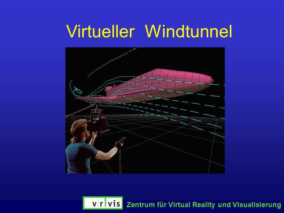 Virtueller Windtunnel Zentrum für Virtual Reality und Visualisierung