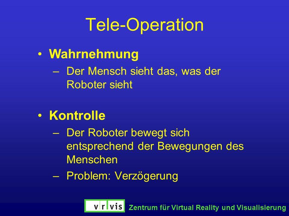 Tele-Operation Wahrnehmung Kontrolle