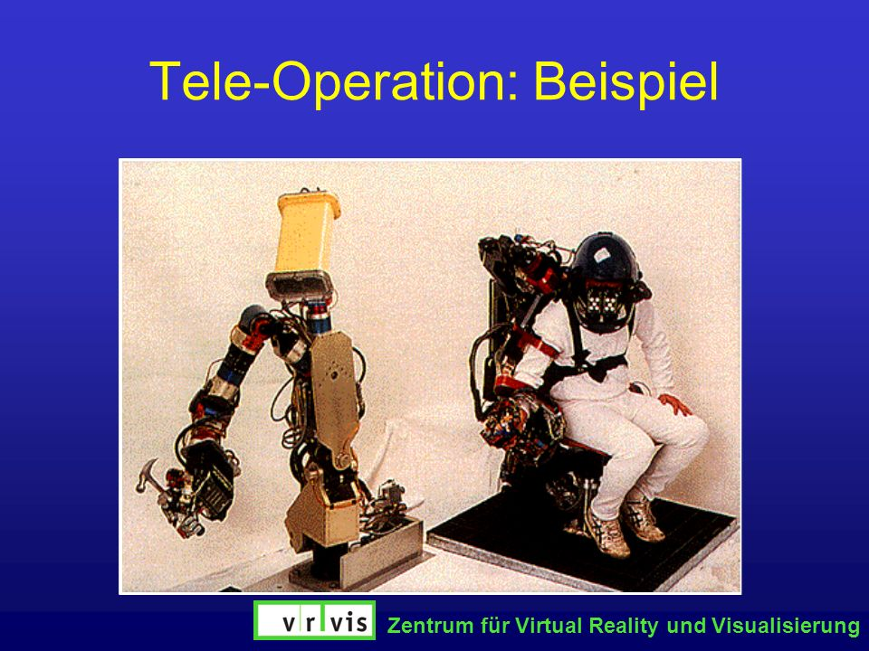 Tele-Operation: Beispiel
