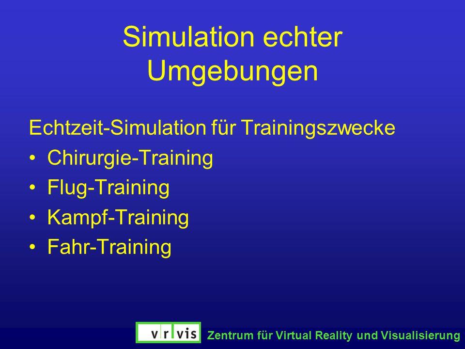 Simulation echter Umgebungen
